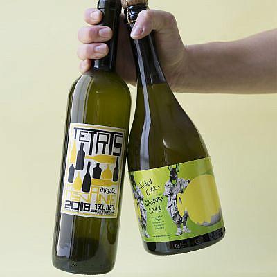 מינימום התערבות יין טבעי של יינות עסיס. צילום: מיכל לופט
