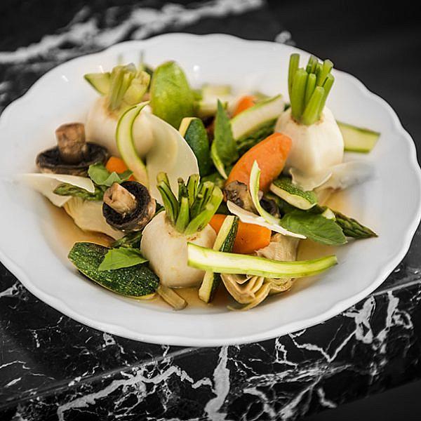 ירקות בָּריגוּל של שף טיבו ברה. צילום: דניאל לילה