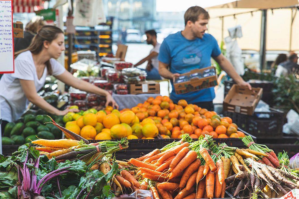 מגרש משחקים למפתחים שוק הנמל תל אביב. צילום: שני בריל
