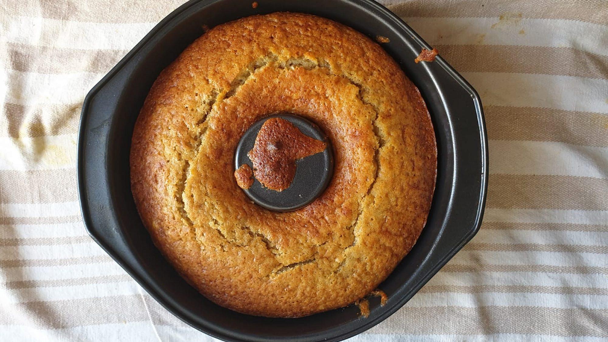 עוגת הבננות של ברברה. צילום: דור ונגר