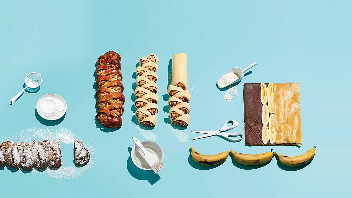שיבולת מרציפן, שוקולד ובננות של ברי סייג   צילום: דן פרץ   סגנון: עמית פרבר