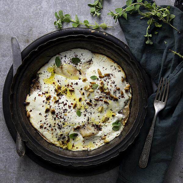 סינייה יוגורט ודג של ג'סיקה לזמי. צילום: דן לב, סגנון: דיאנה לינדר