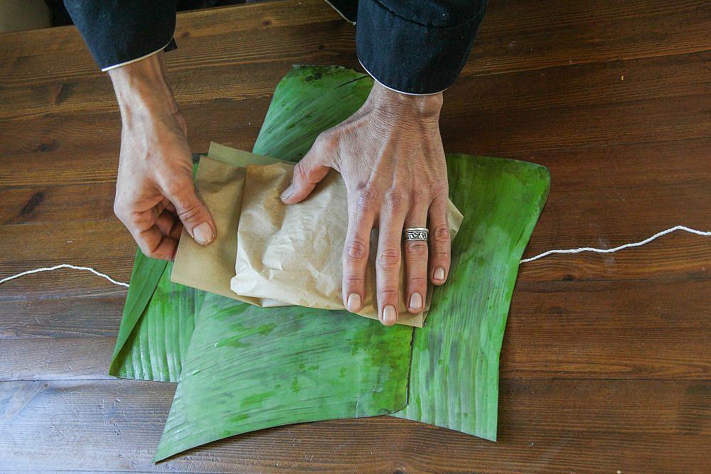 טייק אווי בעלי בננה, מסעדת רוטנברג. צילום: ענבל ענברי מלמד