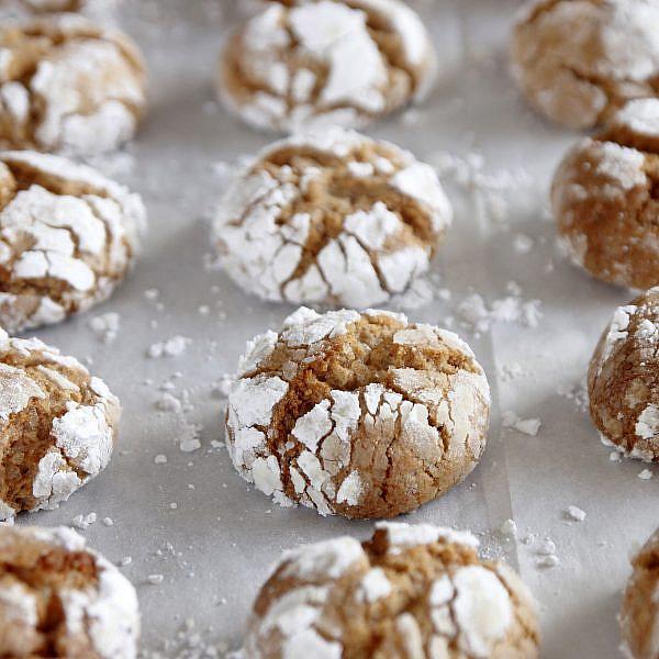 עוגיות שקדים ומייפל מתפוצצות של נטלי לוין, מתוך ספר הבישול
