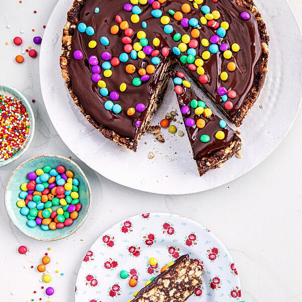 עוגת כדורי שוקולד ללא אפייה של נטלי לוין, מתוך ספר הבישול