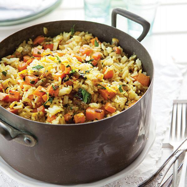אורז כתום של רות אוליבר | צילום: דן לב | סגנון: אוריה גבע