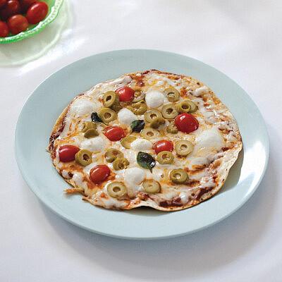 פיצה מטורטייה של רות אוליבר | צילום: דן לב | סגנון: טליה אסיף