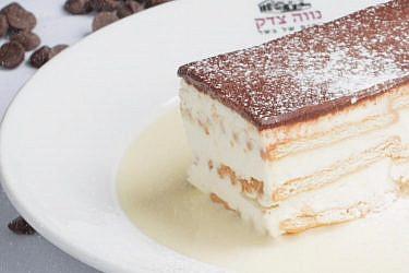 """עוגת השחר של מקום של בשר. צילום: יח""""צ"""