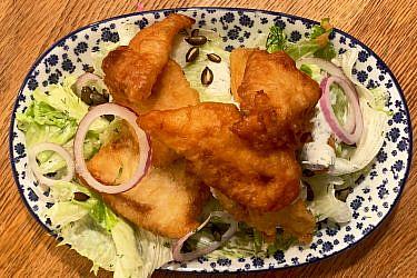 פיש & אייסברג של שף אסף גבאי. צילום: אסף גבאי
