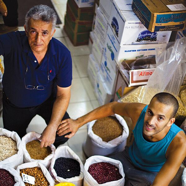 חנות התבלינים חבשוש בשוק לוינסקי. צילום: דניאל לילה