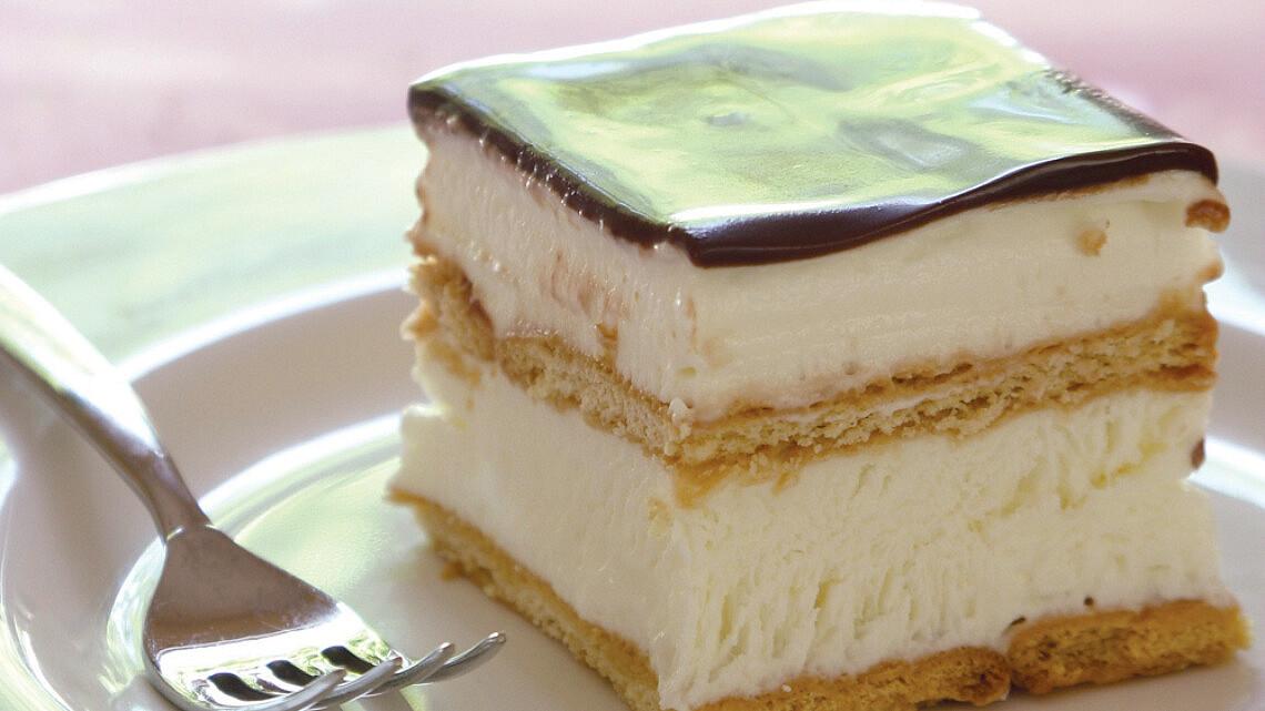 עוגת ביסקוויטים קלה של קרין גורן. צילום: דניאל לילה. צילום: דניאל לילה