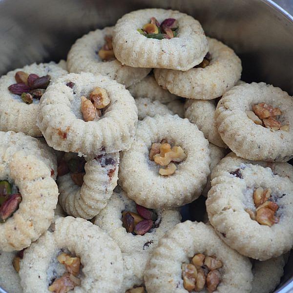 טעם של בית מעמולים של פאטמה עיסא מעכו. צילום: נורית פורן