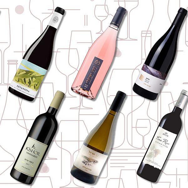 יינות ישראליים מומלצים עד 100 שקלים. עיצוב: לי גיל
