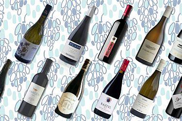 יינות מקומיים ליום העצמאות. עיצוב: לי גיל