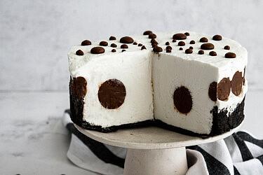 עוגת שוקולד גבינה של שרית נובק (מיס פטל). צילום: שרית נובק