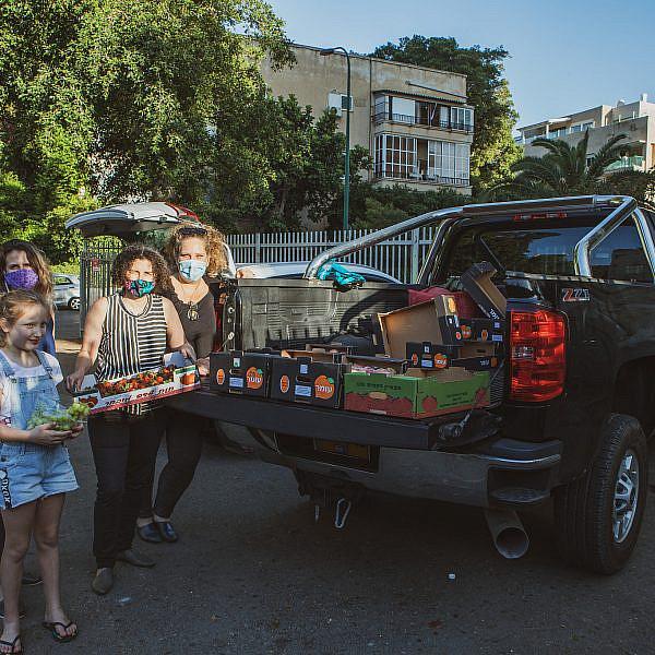 קבוצת רכישה אורבנית בלב תל אביב. צילום: שני בריל