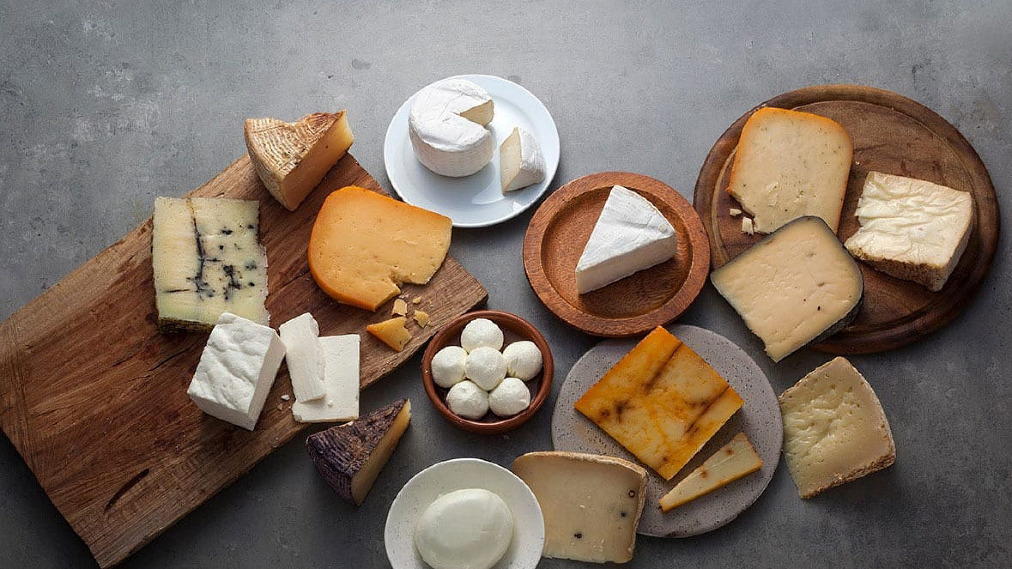 גבינות של מחלבת בת הרים