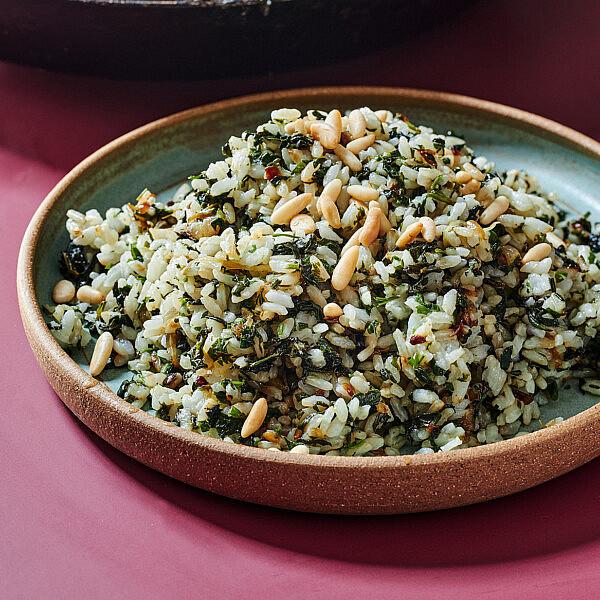 אורז תרד של רותם ליברזון. צילום: אמיר מנחם.