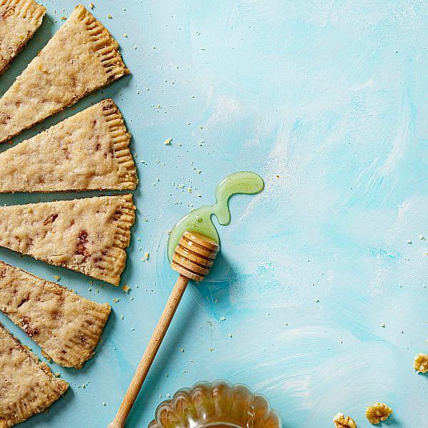 פריכיות אגוזים בדבש של קרין גורן; מתוך הספר