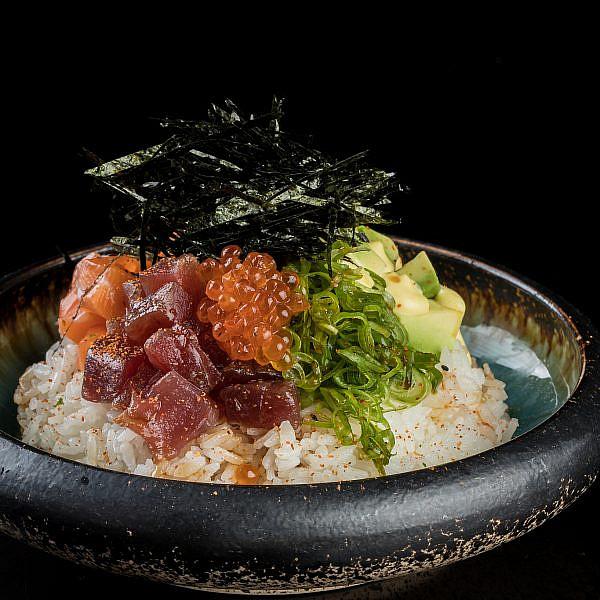 פוקי בול במסעדת קנסאי סושי. צילום: גל זהבי, יח