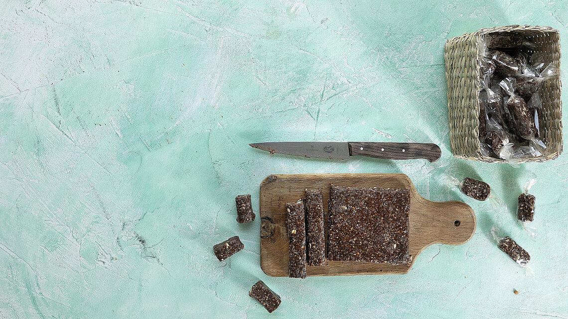 חטיפי שוקולד תמר של רינת צדוק (צילום: דניאל לילה)