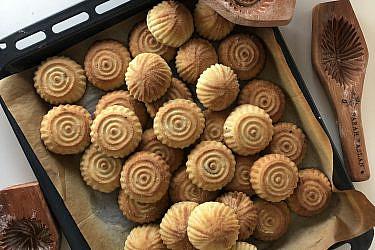עוגיות מעמול של פרקח רסלאן. צילום: פרח רסלאן