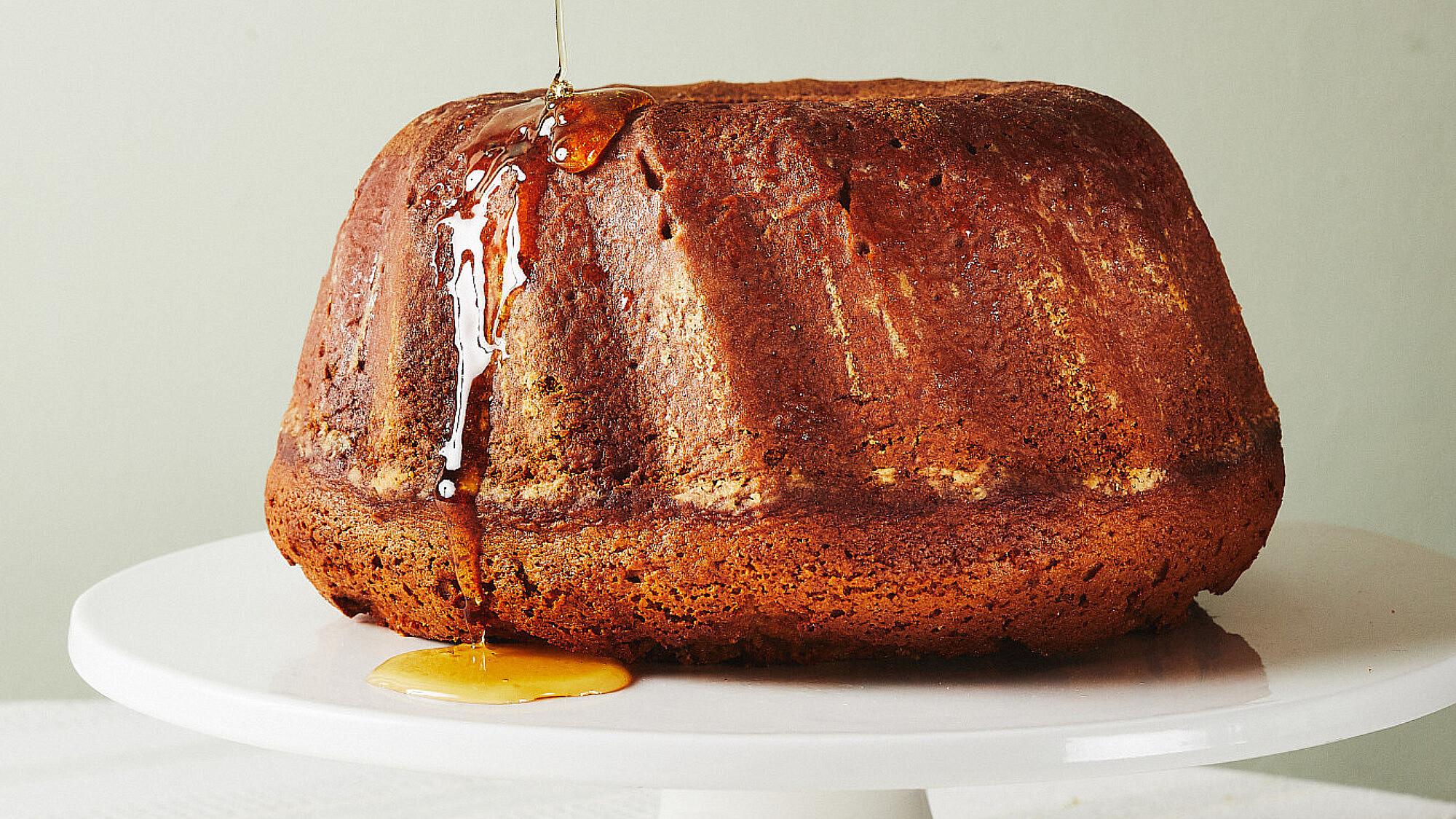 עוגת הדבש של יעל (מכוורת מכמנים). צילום: מתן כץ