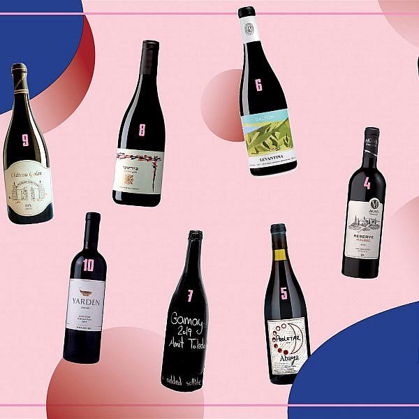 יינות אדומים לראש השנה. עיצוב: אלונה פלוסקי