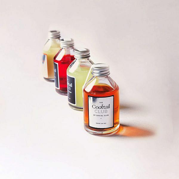 """קוקטילים מבוקבקים של טוקיו קלאב. צילום: יח""""צ"""
