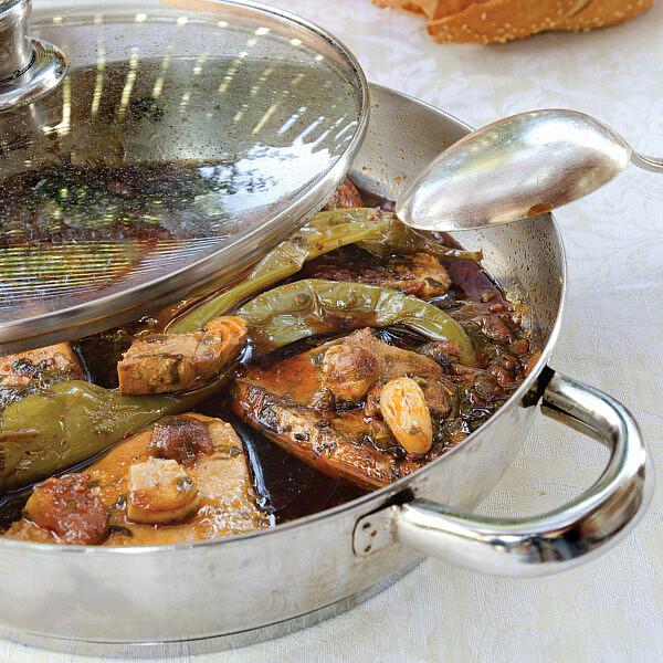 דג חריף קר של שף אבי לוי (צילום: אילן נחום)