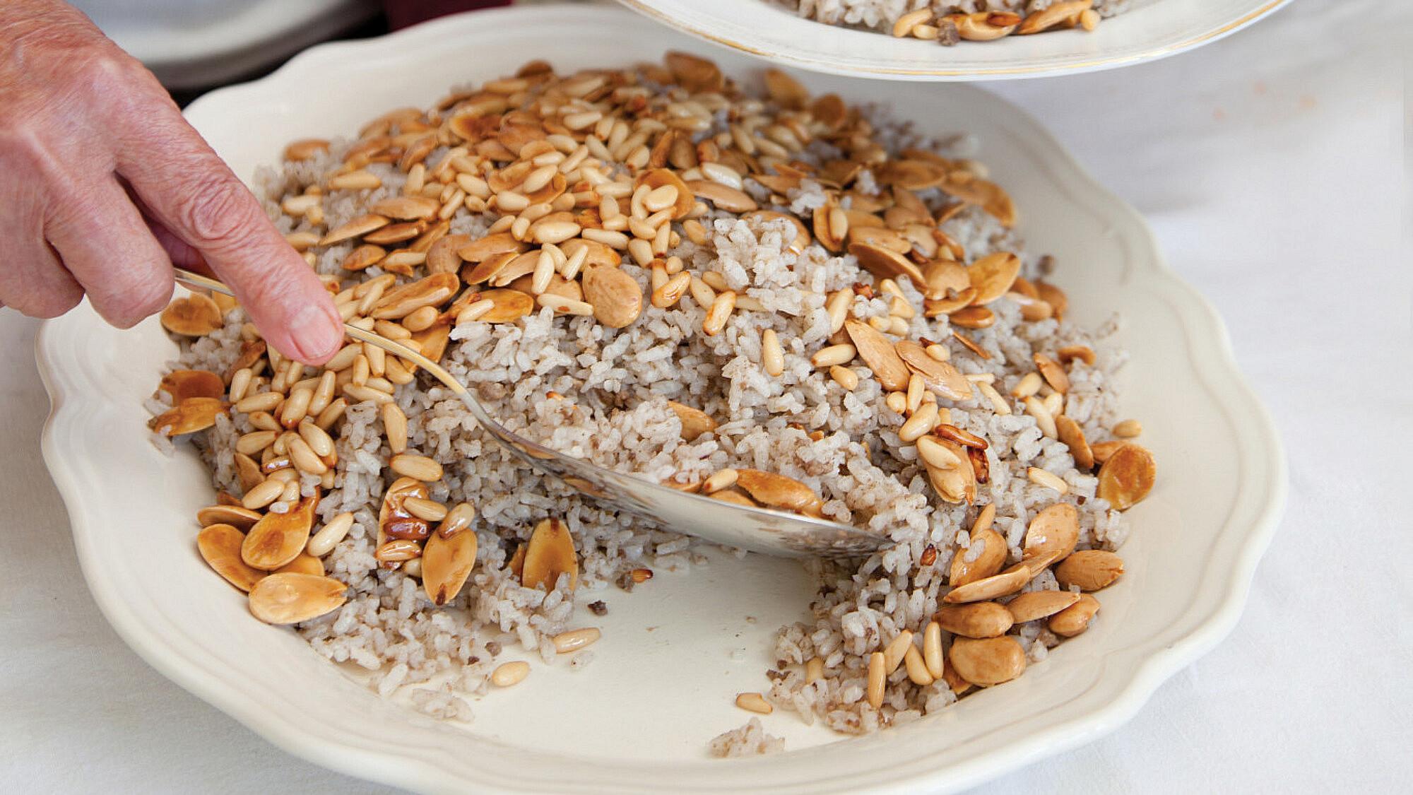 אורז עם בשר (ריז-טַטְבּיאַה) של אביגאל כהן (צילום: דניאל לילה)