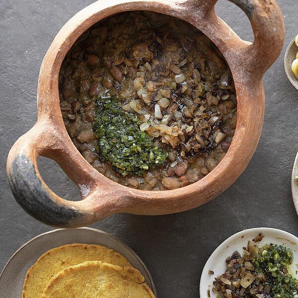 לוביו – תבשיל שעועית גיאורגי של רינת צדוק. צילום: דניאל לילה