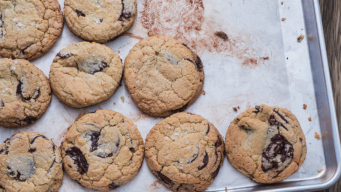 עוגיות שוקולד צ'יפס של ליאור משיח. צילום: מיכל רביבו
