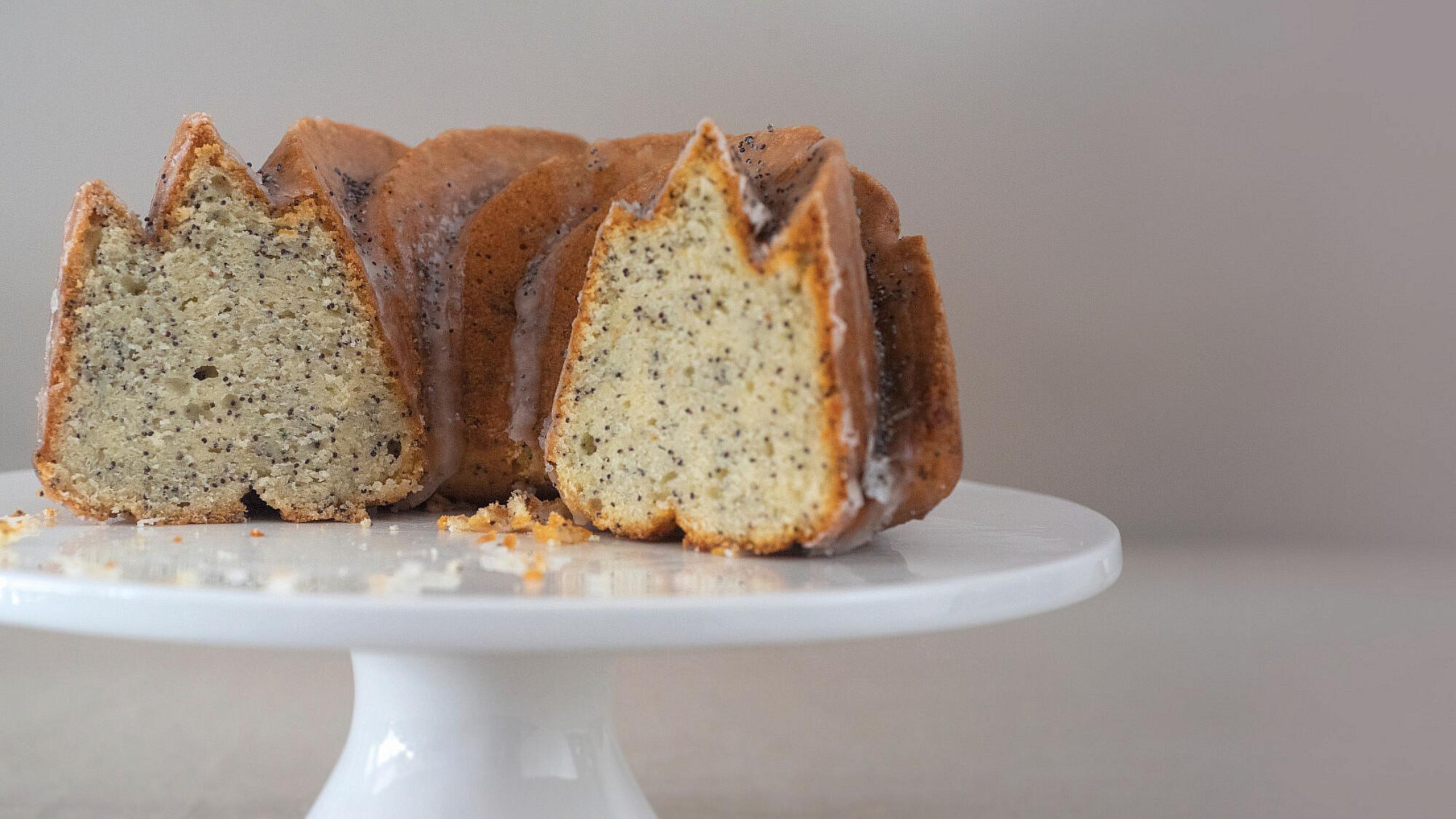 עוגת פרג ולימון של ליאור משיח. צילום: מיכל רביבו