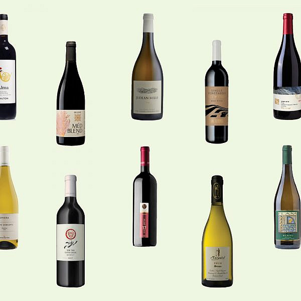 יינות ישראליים שמטבאים את הטרואר המקומי (דימוי: אלונה פלוסקי)