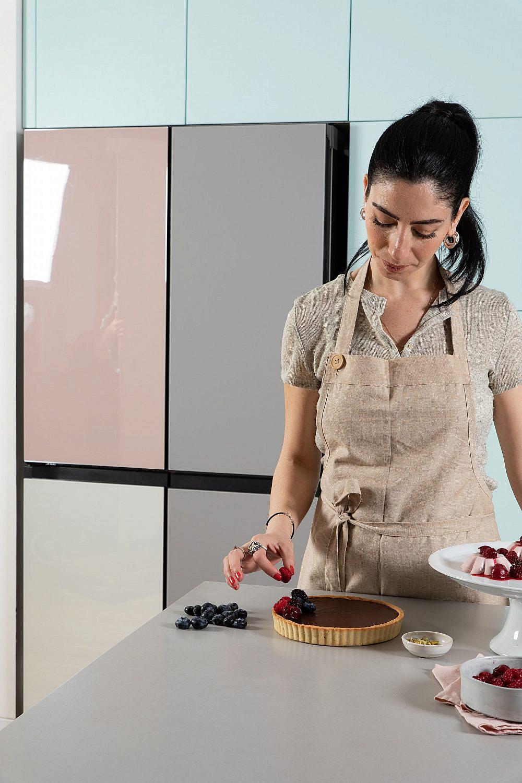 טארט שוקולד של סופיה טייב. צילום: שני בריל, סטיילינג עינב רייכנר. סמסונג BESPOKE