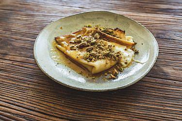 קרפ כנאפה של שף עינב אזגורי | צילום: שני בריל