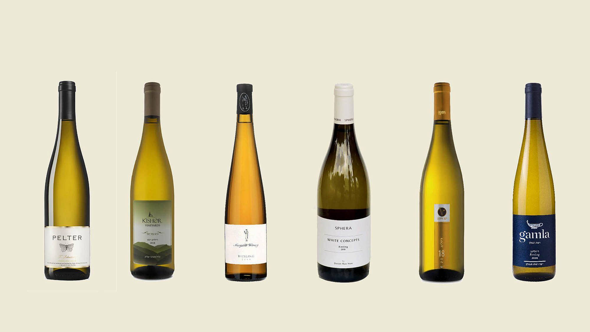 מגדירים את הריזלינג מחדש, יינות ריזלינג ישראליים
