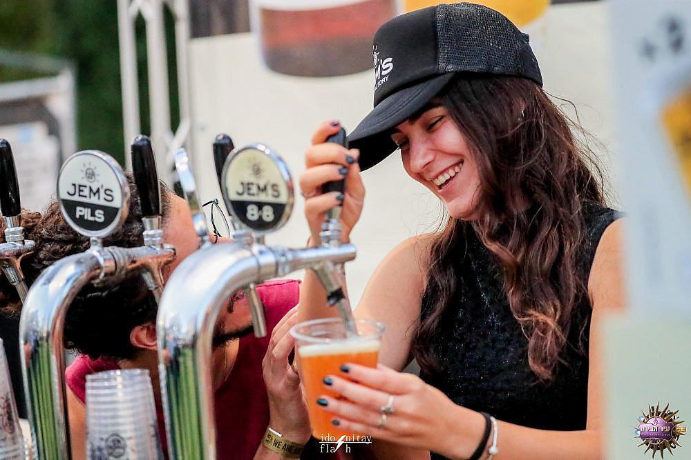 תמזגו, תמזגו פסטיבל הבירה בירושלים. צילום: עידו ניתאי