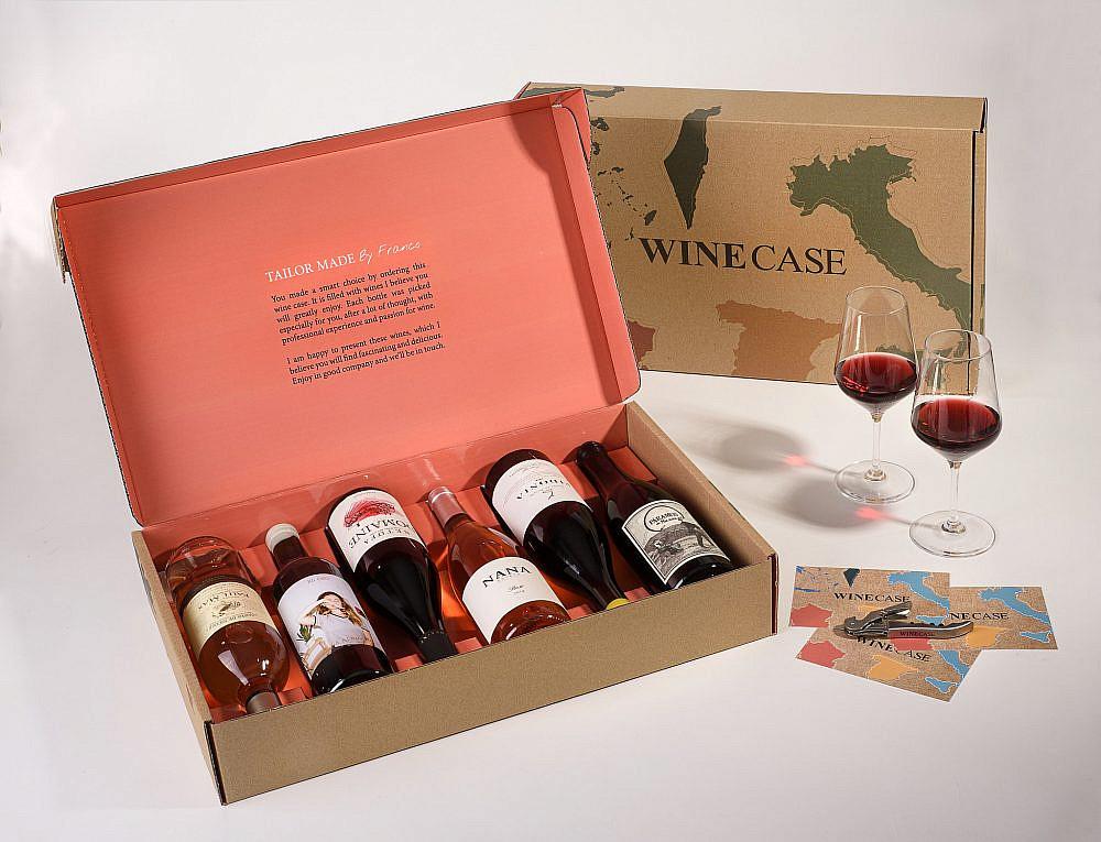 בול מה שאתם צריכים winecase. צילום: חגית גורן