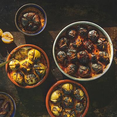 ברולה פטה ותאנים של מיכל חביביאן (צילום: שני בריל)