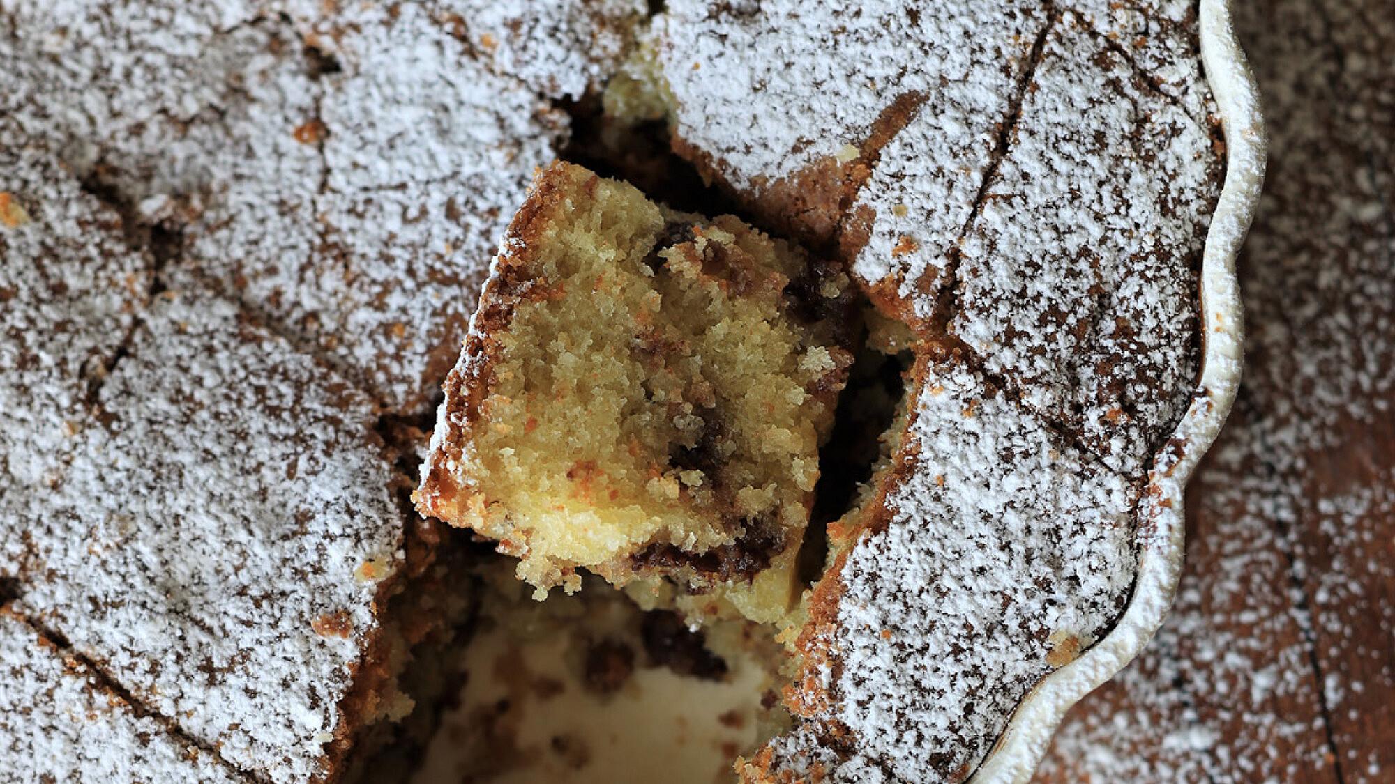עוגת קוקוס ושוקולד חלב של קרן אגם. צילום: קרן אגם