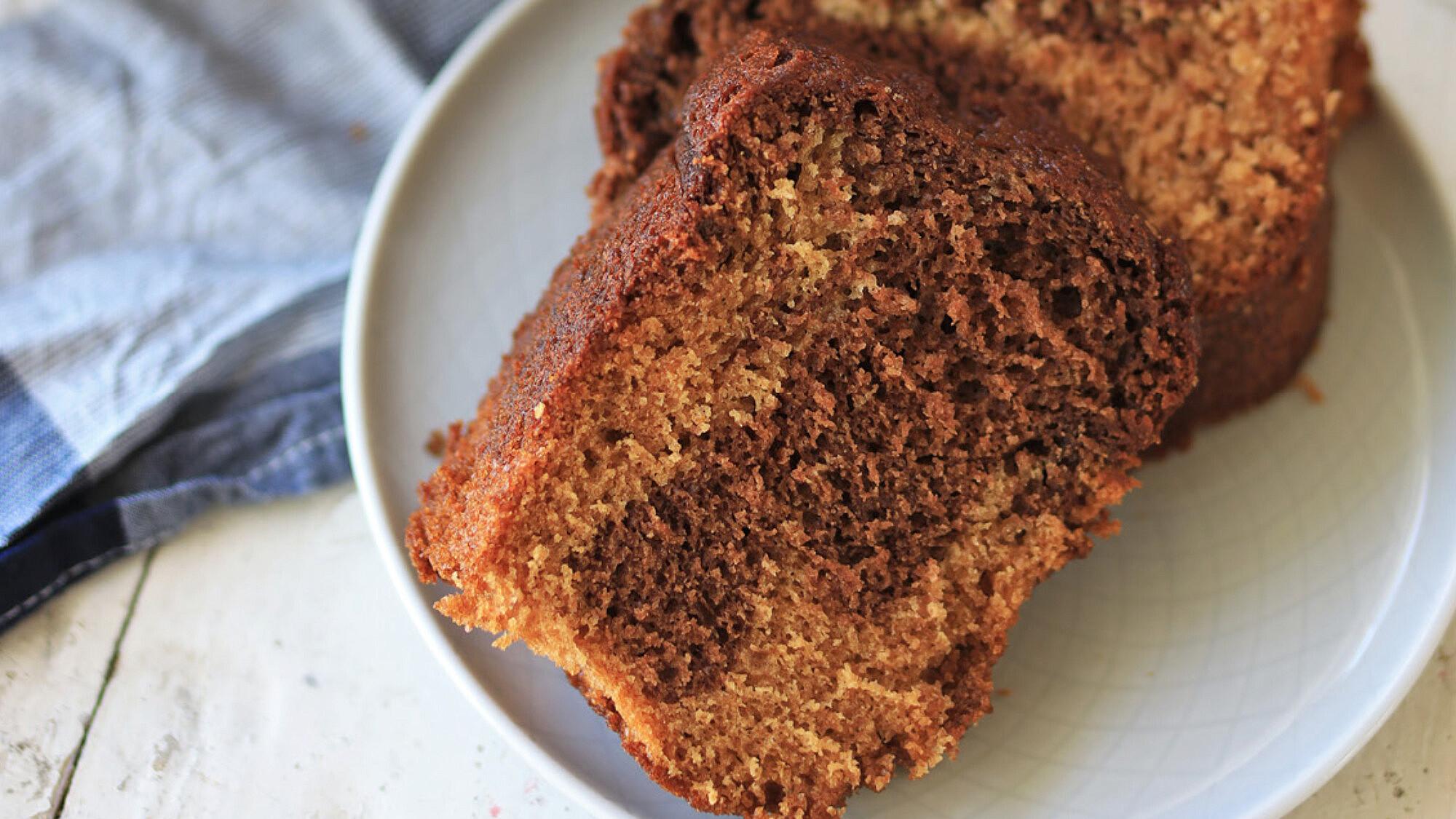 עוגת שיש דבש ושוקולד של קרן אגם. צילום: קרן אגם
