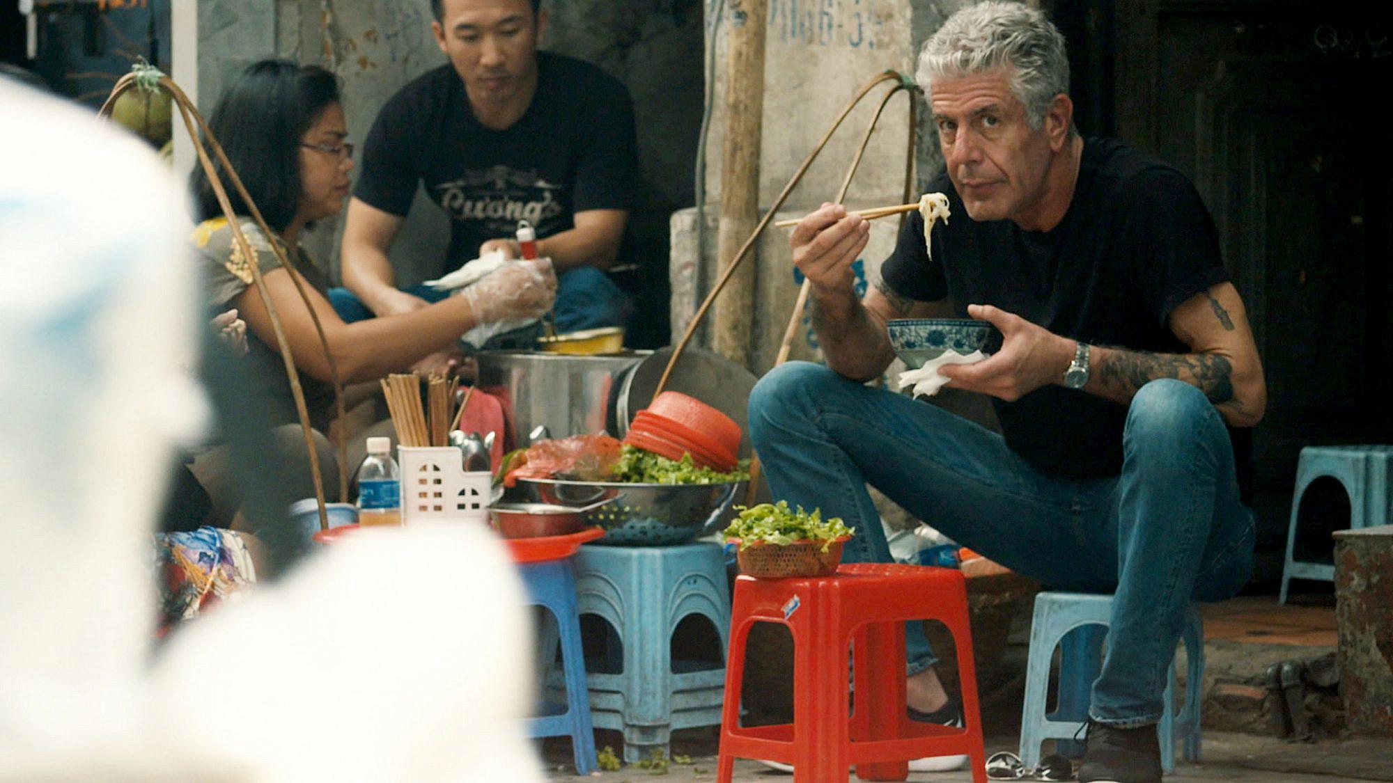 """חייו ומותו (מתוך הסרט """"שף - סרט על אנתוני בורדיין"""", שיוקרן בפסטיבל הסרטים בחיפה)"""